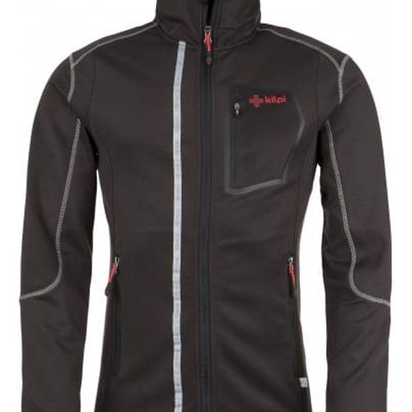 Pánská fleecová bunda KILPI BOGDAN černá xxl