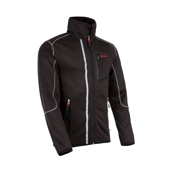 Pánská fleecová bunda KILPI BOGDAN černá xxl3