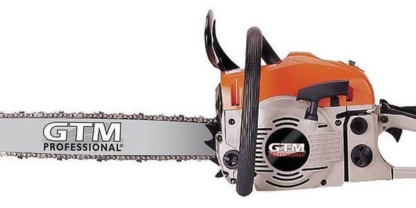 Pila řetězová GTM GTC 45, benzínová + Doprava zdarma2
