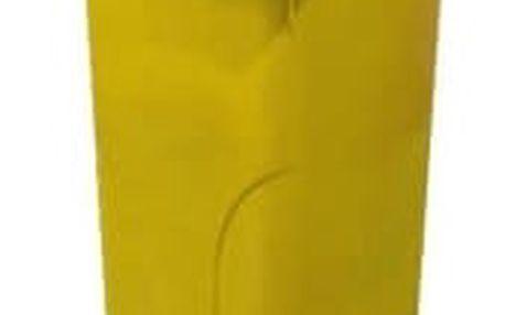 Nádoba na odpadky 120l plastová, žlutá