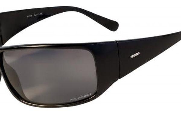 Sluneční brýle Relax Maykor XL R1115 černá lesk Uni