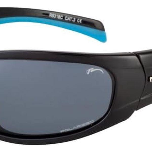 Sluneční brýle Relax Nargo R5318C černá/modrá Uni2