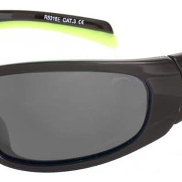 Sluneční brýle Relax Nargo R5318E černá/žlutá Uni2