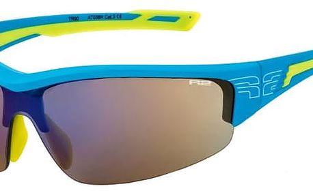 Sportovní sluneční brýle R2 WHEELLER AT038H modrá, žlutá lesklá AT038H