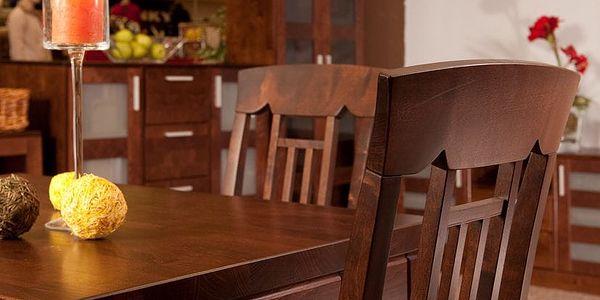 HMmax Noční stolek SN 109 masiv borovice Barevné provedení dřeva: dub2