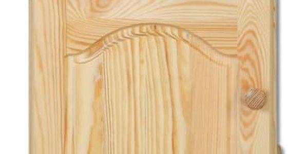 HMmax Noční stolek SN 104 masiv borovice Barevné provedení dřeva: gray - šedá