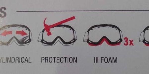 Lyžařské brýle RELAX FELT HTG16L uni4