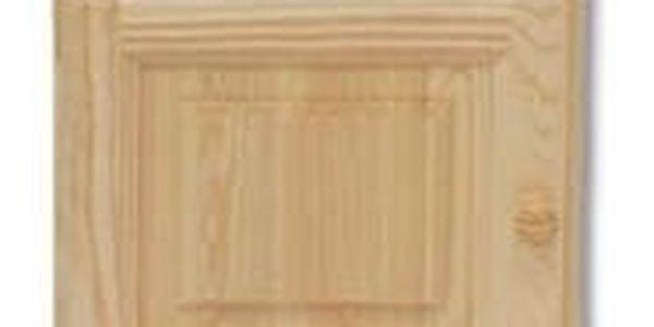 HMmax Noční stolek SN 101 masiv borovice Barevné provedení dřeva: ořech