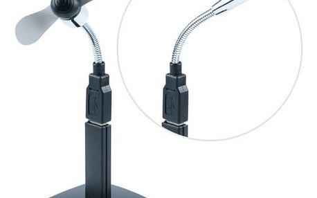 USB Hub Connect IT USB 2.0 s ventilátorem a led lampičkou (CI-142)