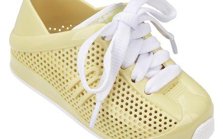 Melissa žluté dětské tenisky Love System Yellow/White - 21