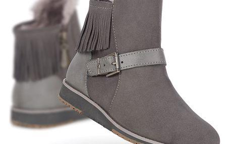 Emu šedé zimní boty Oxley Charcoal/Anthracite - 40/41