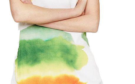 Desigual barevné pouzdrové šaty Nilina - 42