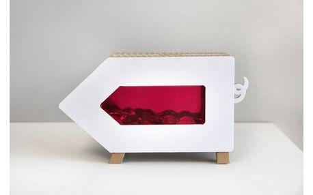 Růžová kasička Unlimited Design for kids Prasátko