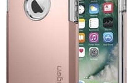 Spigen Tough Armor zadní kryt pro Apple iPhone 7 růžový (Rose Gold)