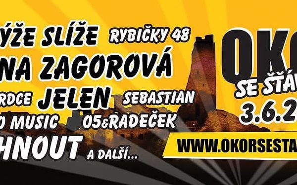 Festival Okoř se šťávou: Horkýže Slíže, Jelen, Hana Zagorová a další muzika3
