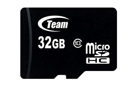 TEAM 32GB Micro SDHC/ Class 10/ + SD adaptér