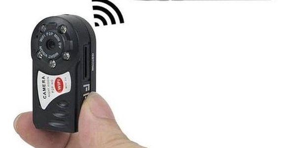 Mini skrytá kamera s podporou WiFi - dodání do 2 dnů