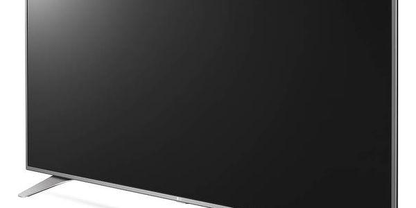 Televize LG 55UH6507 stříbrná/chrom + Doprava zdarma2