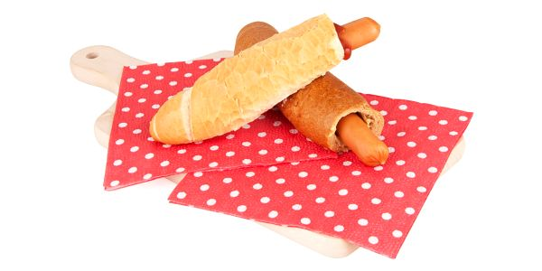 Hot dog Gallet Dijon MAH 50 bílý3