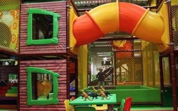 Hodina nebo celý den lumpačení v dětském zábavním centru Amazonie5