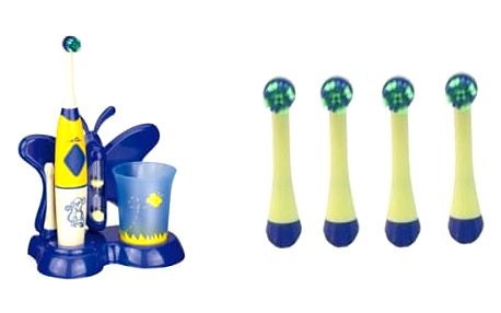 Set (Zubní kartáček ETA Zubnička 1294 90060) + (Náhradní kartáček ETA 1294 90600)