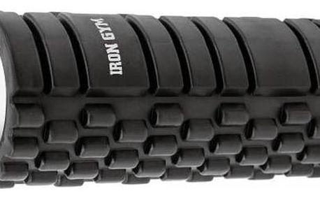 Masážní válec Iron Gym s výstupky černý
