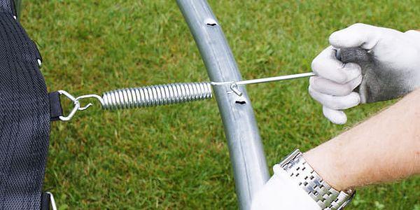 GoodJump 4UPVC trampolína 366 cm s ochrannou sítí + žebřík + krycí plachta2