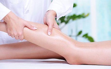 1–4x ruční a přístrojová lymfatická masáž a hubnoucí zábal v salonu Anička v Plzni