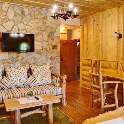Ubytování s vůní dřeva ve srubu v Beskydech