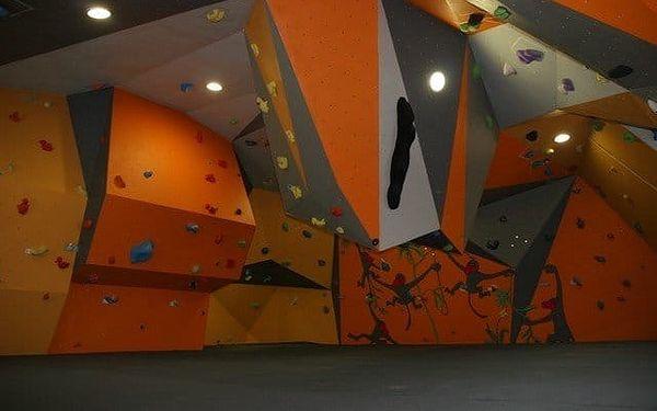 Vstup pro dva nebo neomezená permanentka na lezeckou stěnu na prázdniny4