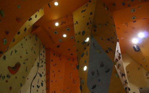 Vstup pro dva nebo neomezená permanentka na lezeckou stěnu na prázdniny5