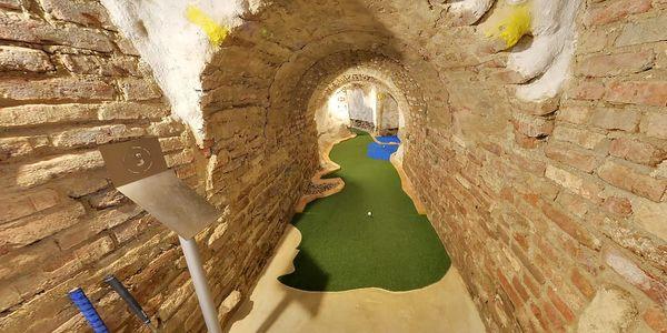 90minutová hra Adventure golfu pro dva ve Stříteži u Třebíče4