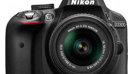 Nikon D3300 + 18-55 VRII + brašna Vanguard jako dárek