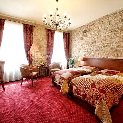 3 až 6denní pobyt pro 2 se snídaněmi v luxusním hotelu Rous v Plzni