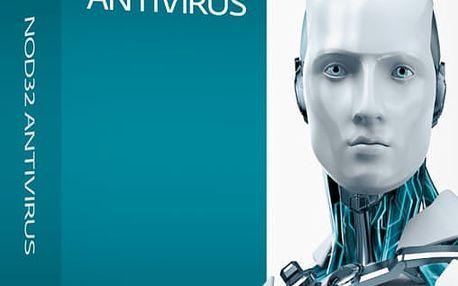 ESET NOD32 Antivirus pro 1 PC na 1 roky, prodloužení licence