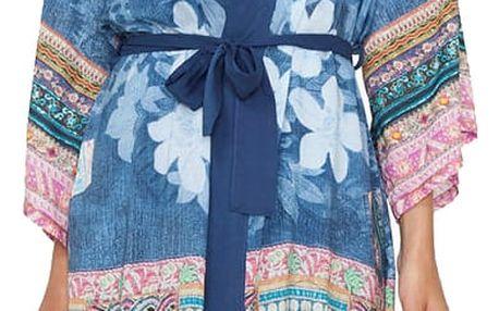 Desigual denimové domácí kimono Exotic Jeans - L/XL