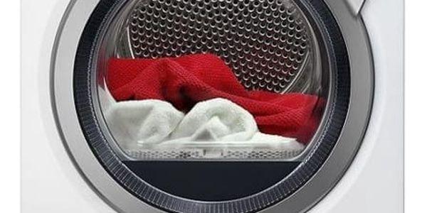 Sušička prádla AEG AbsoluteCare® T8DEE68SC bílá + DOPRAVA ZDARMA