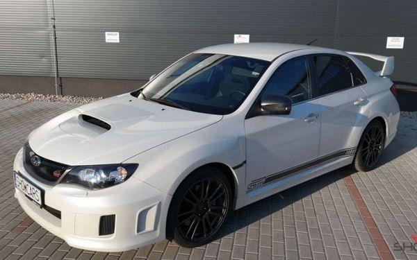 Užijte si adrenalinový rallye challenge v legendárním voze Subaru Impreza WRX STI od Showcars2