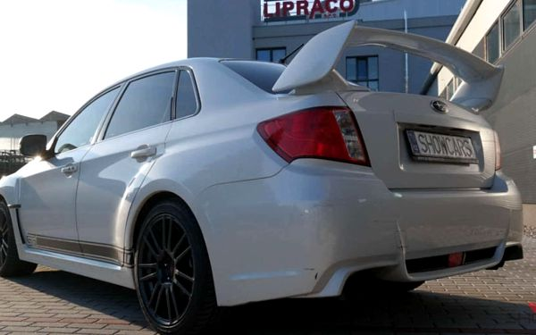 Užijte si adrenalinový rallye challenge v legendárním voze Subaru Impreza WRX STI od Showcars4