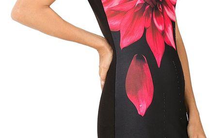 Desigual černé šaty Isla - L