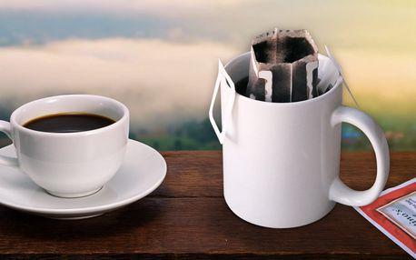 Káva v jednorázových filtrech nejen na cesty