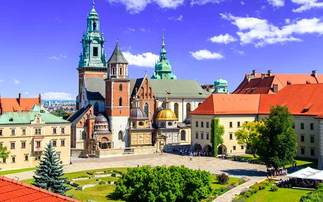 Objevujte krásy Krakova z výhodně položeného hotelu Panorama