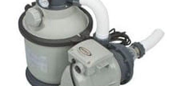 Písková filtrace Intex Krystal Clear 4m3/h, 128644