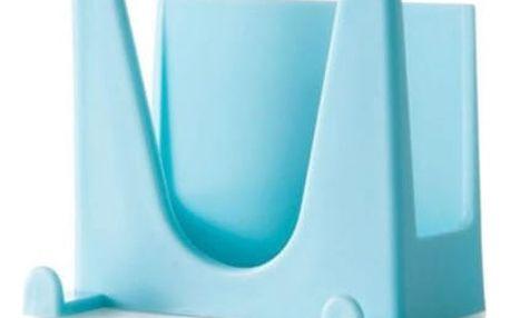 Barevný plastový držák na kuchyňské nádobí