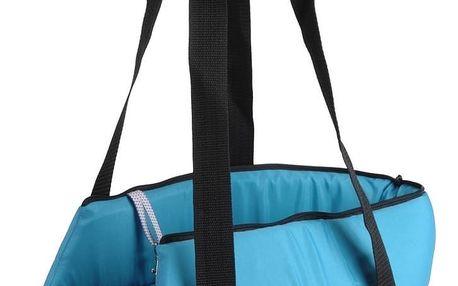 Transportní taška pro zvířecí miláčky modrá, 45 cm