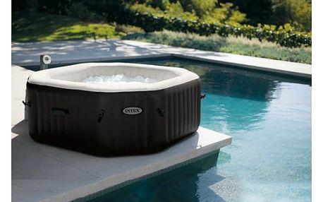 Bazén vířivý Intex Octagon Jet & Bubble Massage průměr 218 x 71 cm
