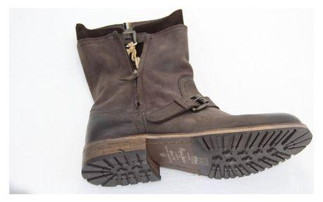 Kožené pánské boty od značky Pepe Jeans včetně dopravy - vel. 43