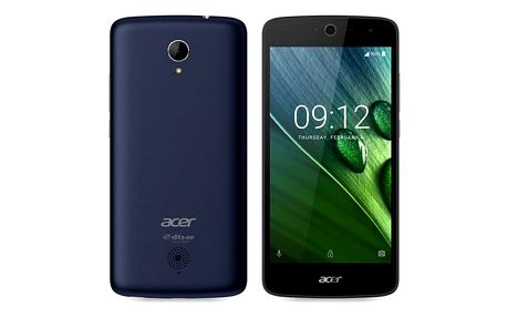 Mobilní telefon Acer Zest LTE Dual SIM (HM.HUSEU.001) modrý