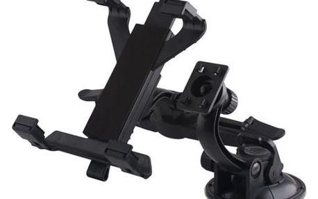 Držák TABLET 2in1 univerzální na sklo nebo na opěrku hlavy