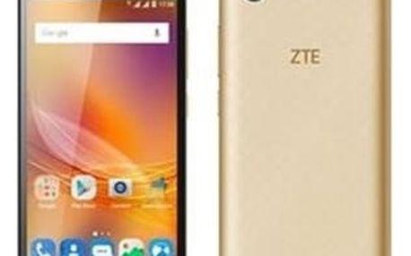 Mobilní telefon ZTE Blade A601 Dual SIM (ZTEA601GD) zlatý